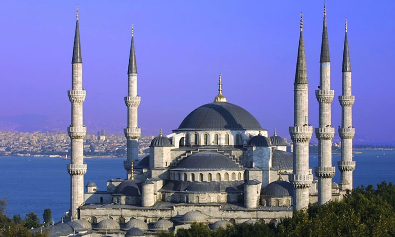 استنبول کی نیلی مسجد (Blue Mosque)—۔