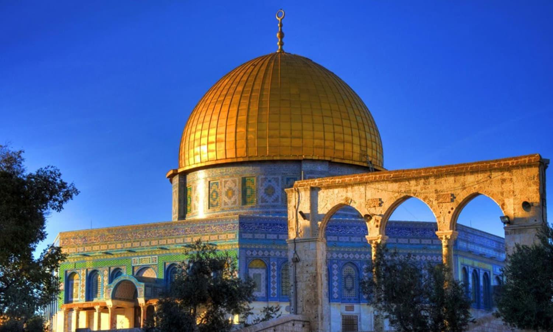 یروشلم کی مسجد اقصیٰ—۔