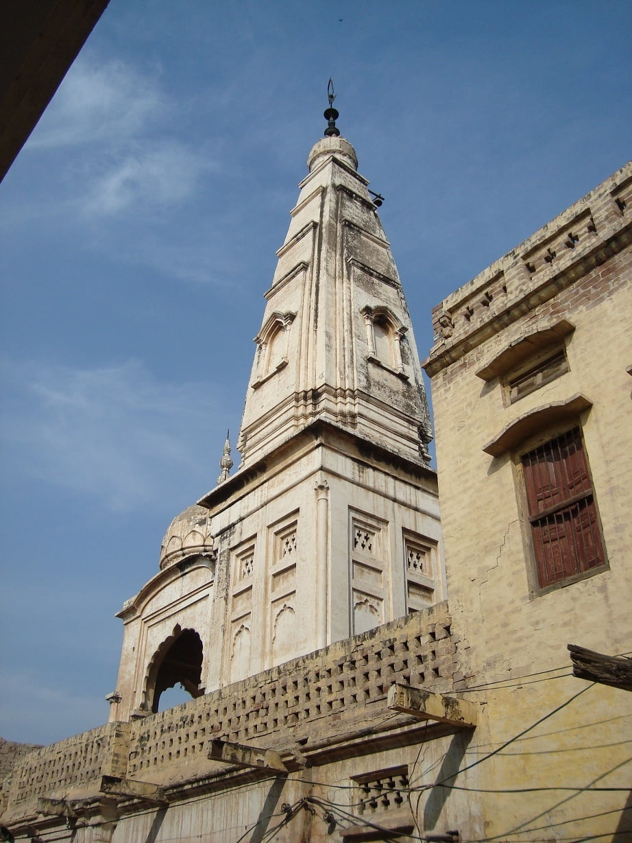 The temple at Nankana Sahib.