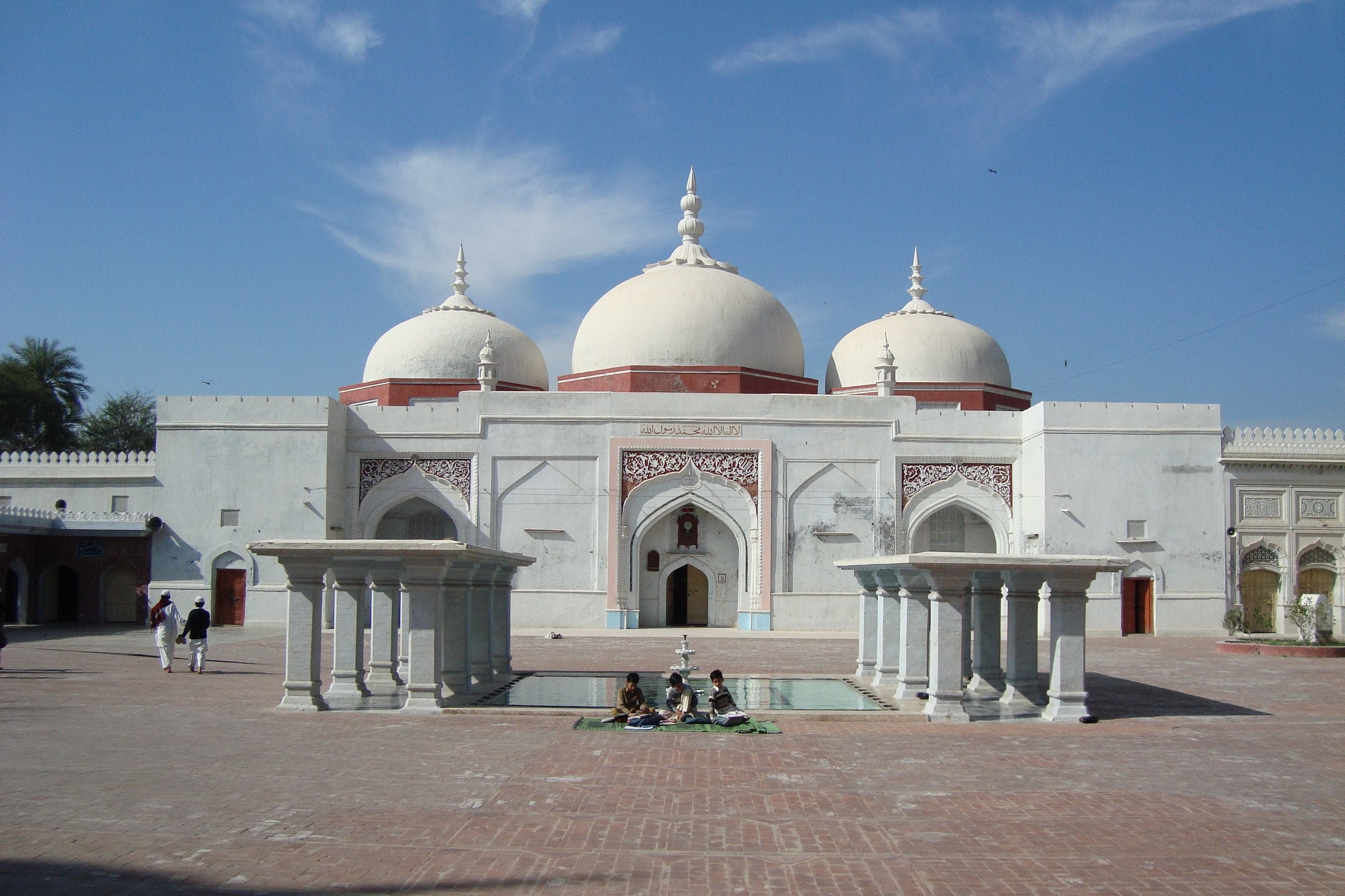 The Sher Shah Mosque at Bhera.