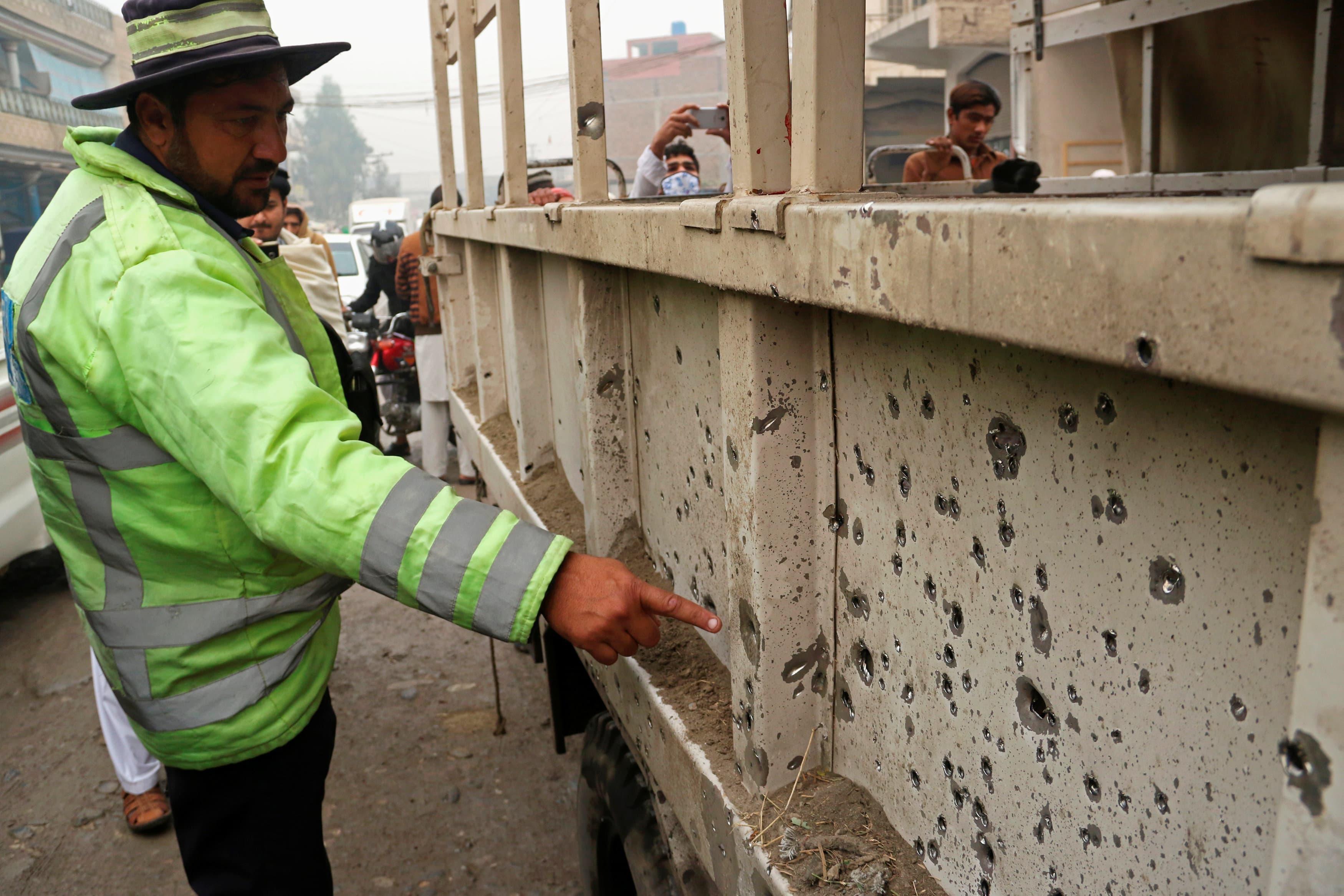 Roadside blast on FC vehicle kills three security personnel in Peshawar