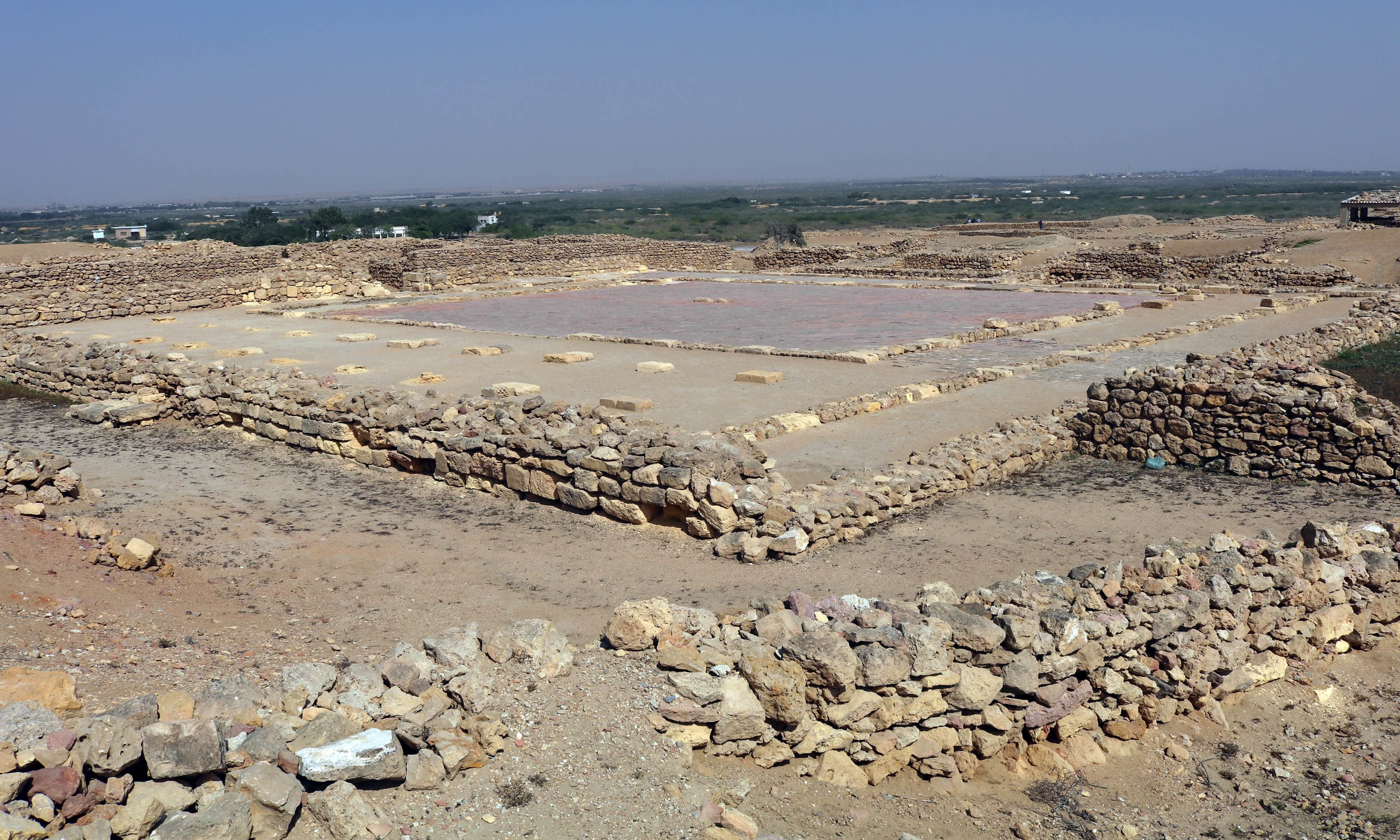 The prayer area of the ancient city. —Ema Anis
