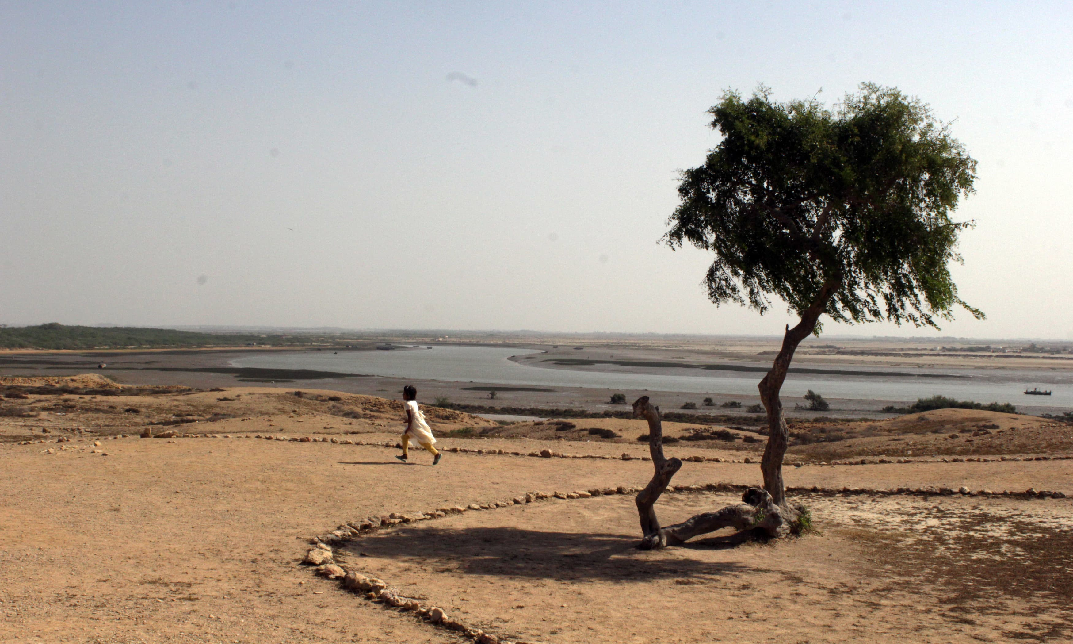 Indus Delta passes right next to the ancient city. —Tauseef Mallick