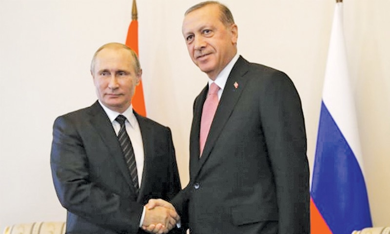 Year after crisis, Turkey and Russia forge uneasy alliance
