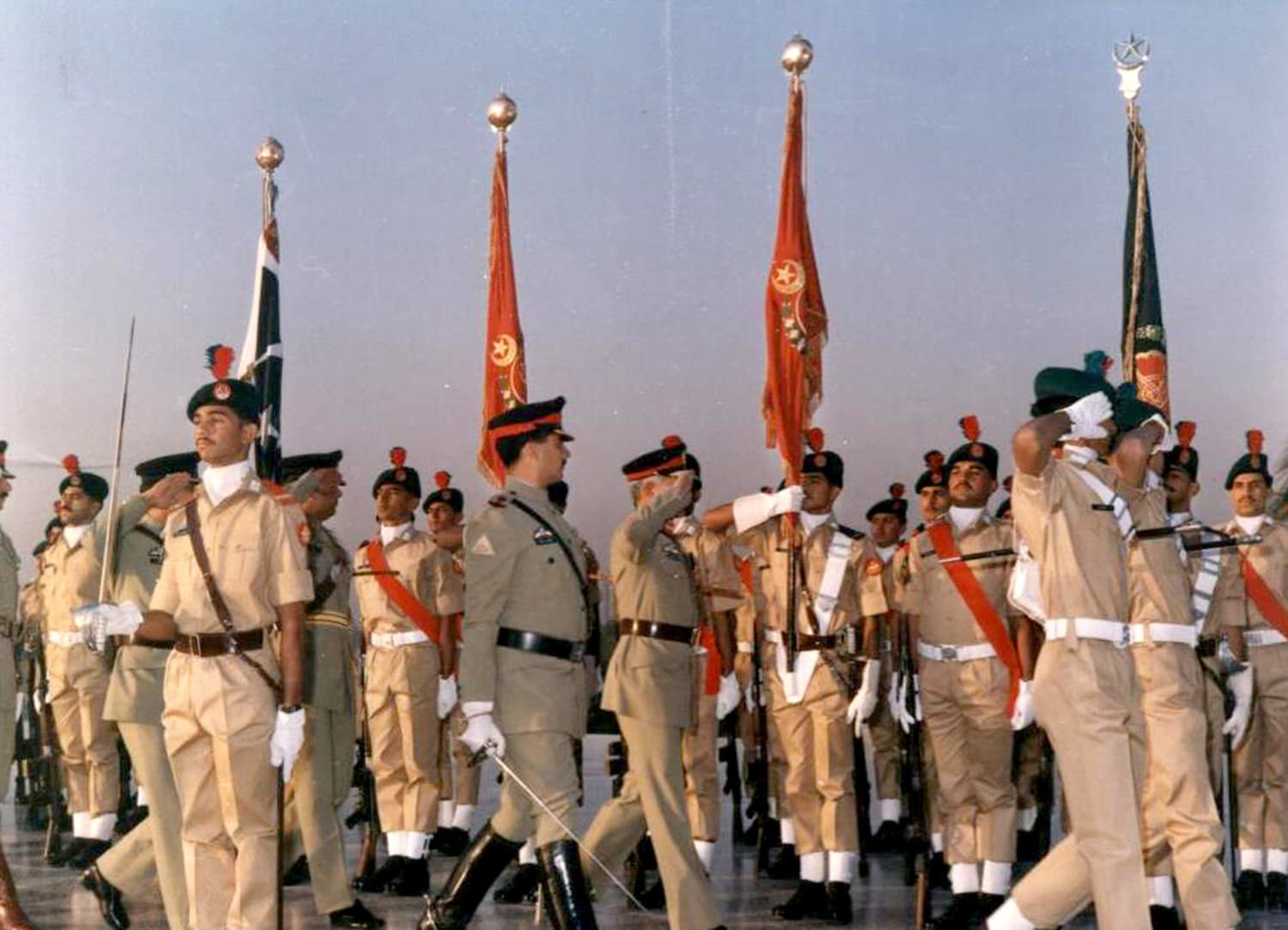 Raheel Sharif was part of the army's infantry division.