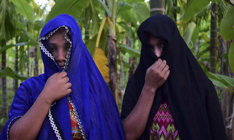 اقوام متحدہ کے مطابق میانمار کے فوجیوں نے آپریشن کے دوران خواتین کو جنسی زیادتی کا نشانہ بھی بنایا—فوٹو: اے ایف پی.
