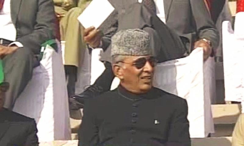 Former army chief Ashfaq Pervez Kiyani attends the ceremony. � DawnNews