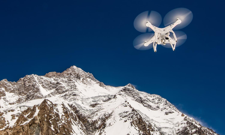 A drone flying high. — Photo by Petr Jan Juračka