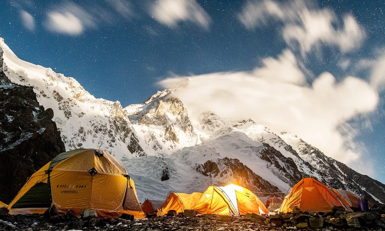 Campsite. — Photo by Petr Jan Juračka