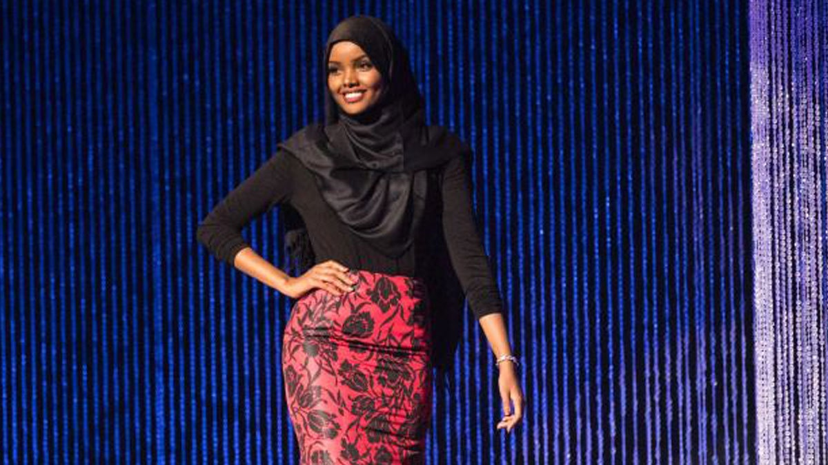 Halima Aden becomes first hijab-wearing woman to compete in the Miss Minnesota USA Pageant