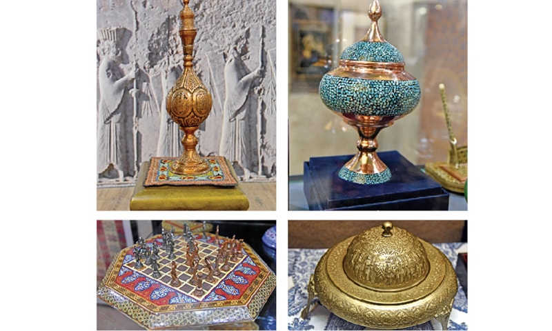 Iranian cultural exhibits on display at Heritage Museum