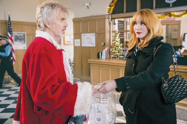 Billy Bob Thornton and Christina Hendricks in Bad Santa 2 (Jan Thijs/Broad Green Pictures/Miramax)