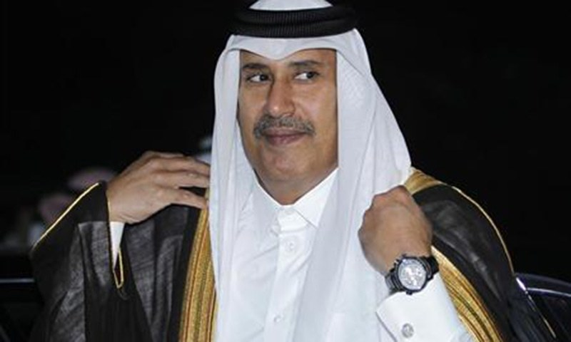 Qatari prince, royal family members in town