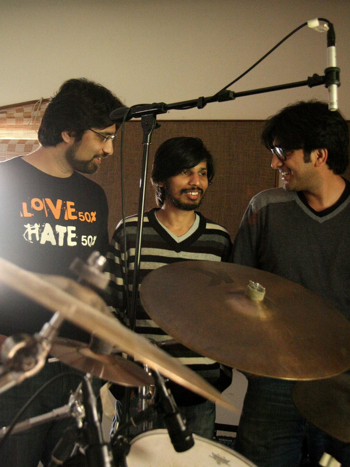 Ali Noori (left), Gumby (centre) and Ali Hamza (right) | Malika Abbas, White Star