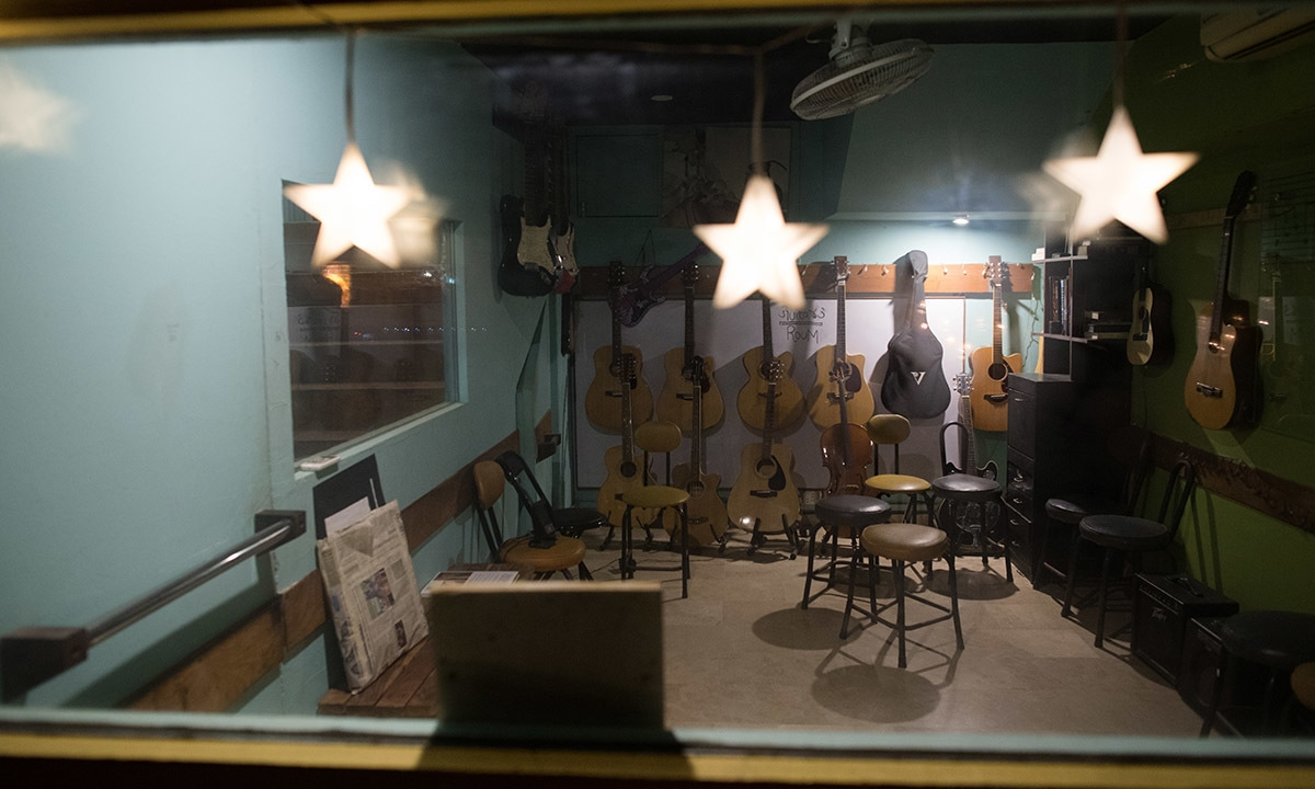 Faisal Gill's studio and music school in Karachi | Mohammad Ali, White Star