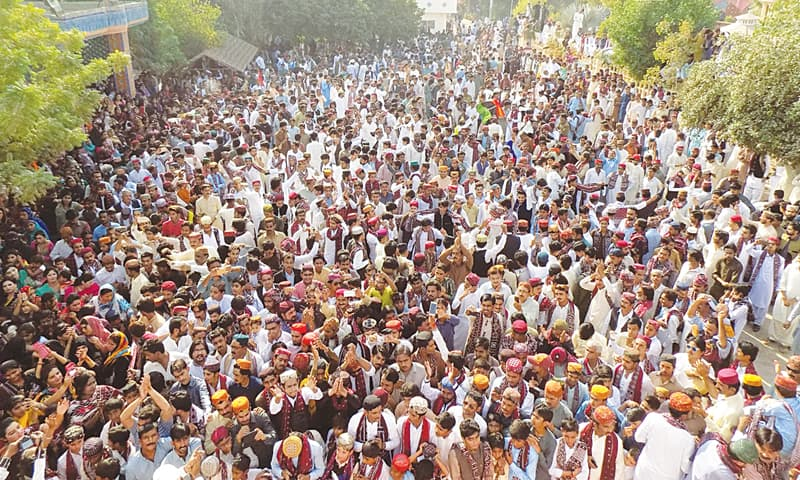 Various linguistic entities demonstrate unity on Sindhi culture day