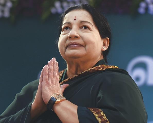 Jayalalithaa Jayaram.—AFP