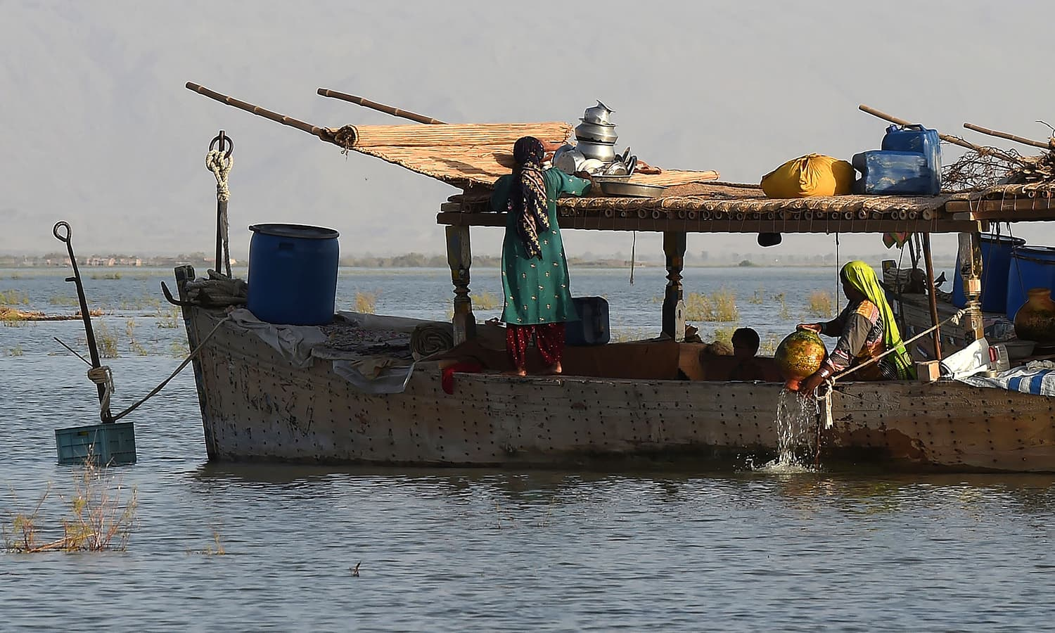 Paradise lost: How toxic water destroyed Pakistan's largest lake
