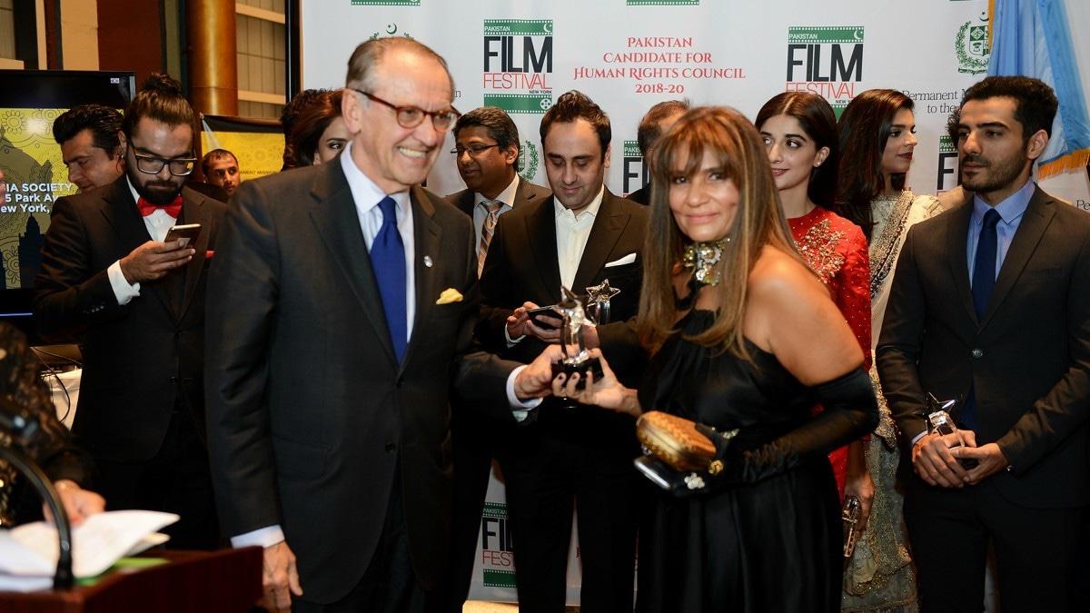 Frieha Altaf ensured that the Pakistan Film Festival New York was a buzzing affair