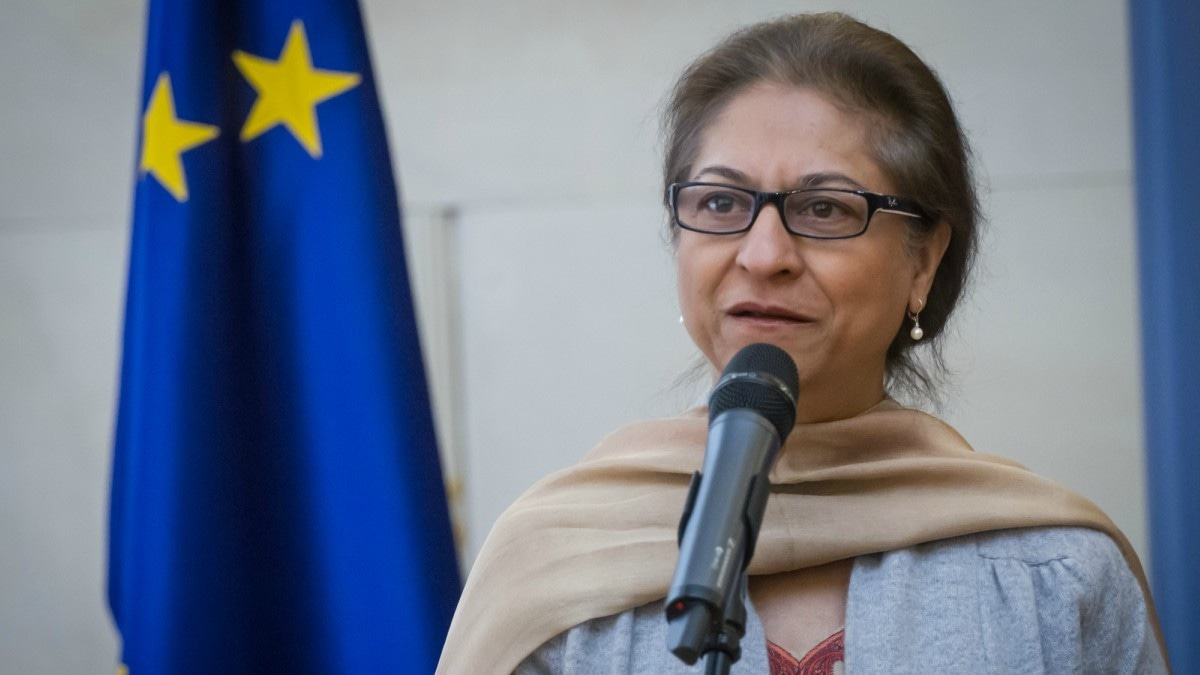 Asma Jahangir was not expecting his victory