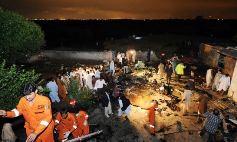 Timeline: Major air crashes in Pakistan