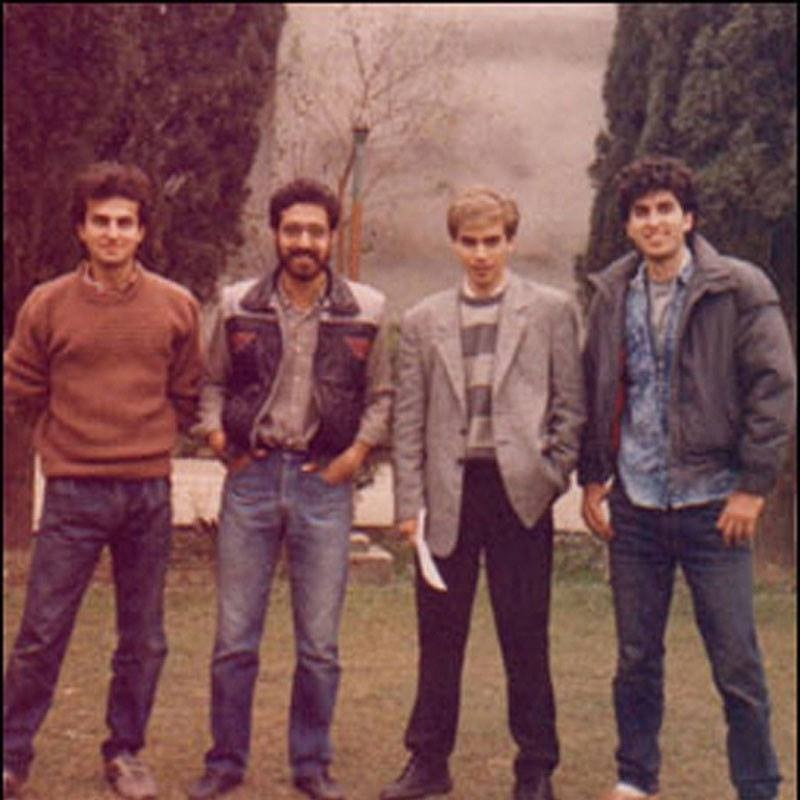 Seen here with the Vital Signs, Junaid Jamshed remained the band's vocalist till 1997