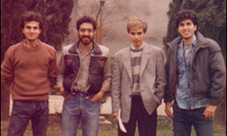 VS Mark-I: Shahzad, Nusrat, Rohail, Junaid (1988).
