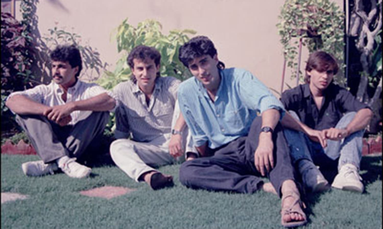 VS Mark-II: Salman, Shahzad, Junaid, Rohail.