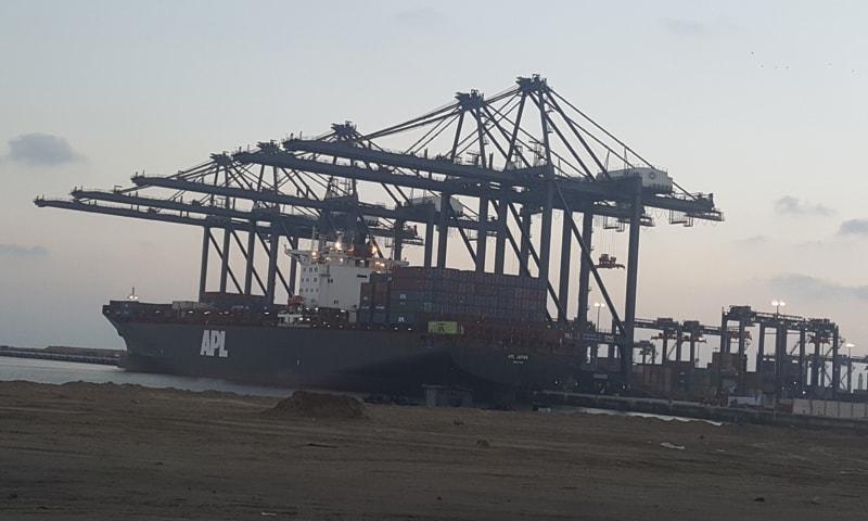 KARACHI: The port can handle 3.1 million twenty-foot equivalent units a year (TEUs).