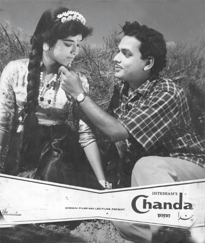 East Pakistan's film-makers brought vibrancy to Pakistani cinema: Shabnam and Rahman in Chanda.