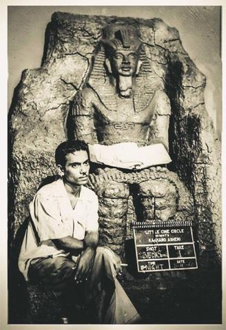 East Pakistan's film-makers brought vibrancy to Pakistani cinema: Zahir Raihan on the sets of his film Kakhono Asheni