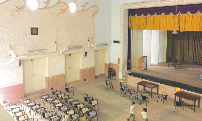 Auditorium of the Jamshed Memorial Hall