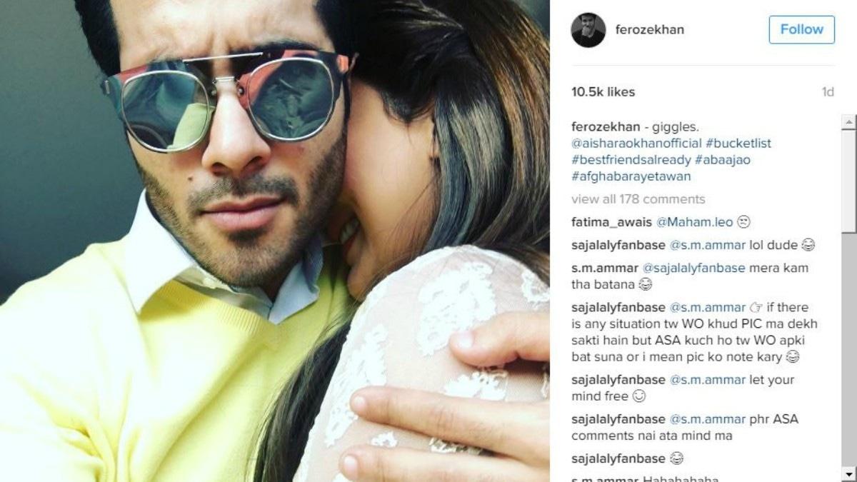 Feroze Khan Hits Back At Abusive Instagram Followers