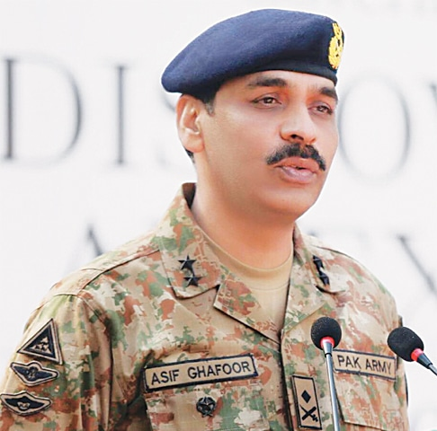 New ISPR chief named