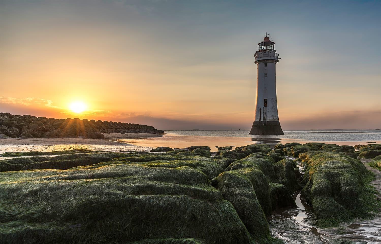 پرچ راک لائٹ ہاؤس، برطانیہ — فوٹوگرافر رچرڈ اسمتھ