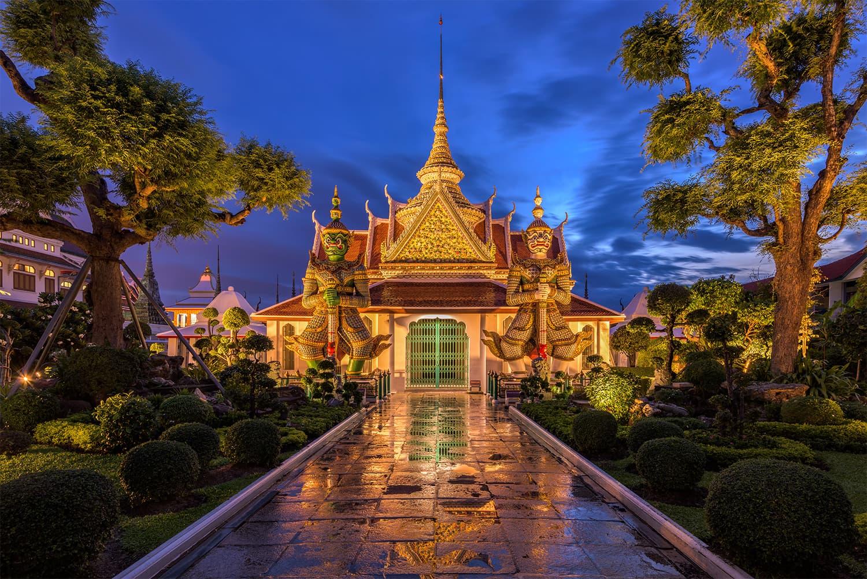 ارن ٹیمپل، تھائی لینڈ —فوٹوگرافر جین پوپ