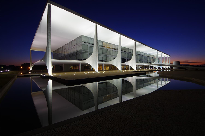 صدارتی محل، برازیل —فوٹوگرافر گیستاؤ گیودس