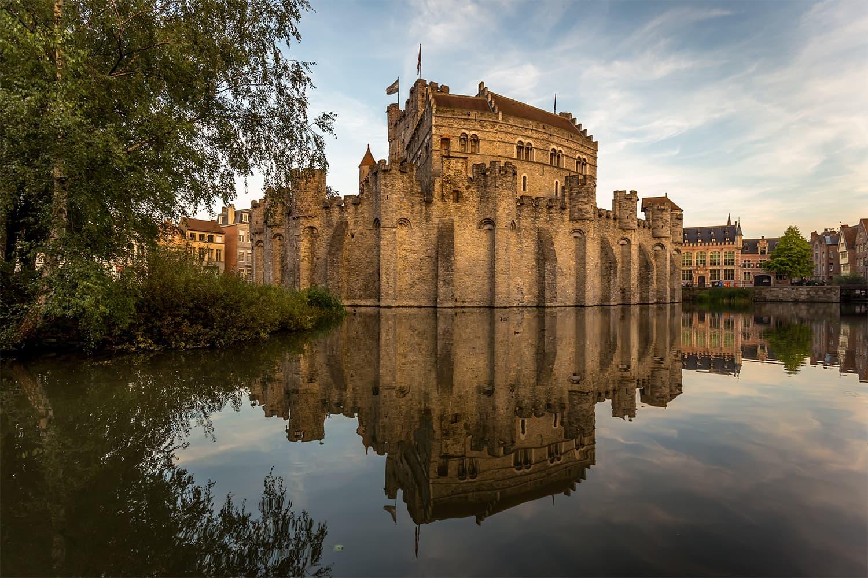 گریونسٹین محل، بیلجیئم — فوٹوگرافر ڈیوڈ ہوروتھ