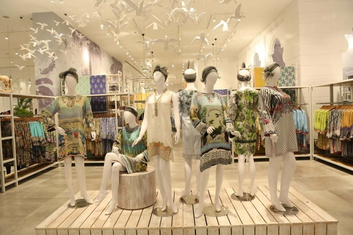 Sapphire launched their megastore in Lahore's Emporium Mall