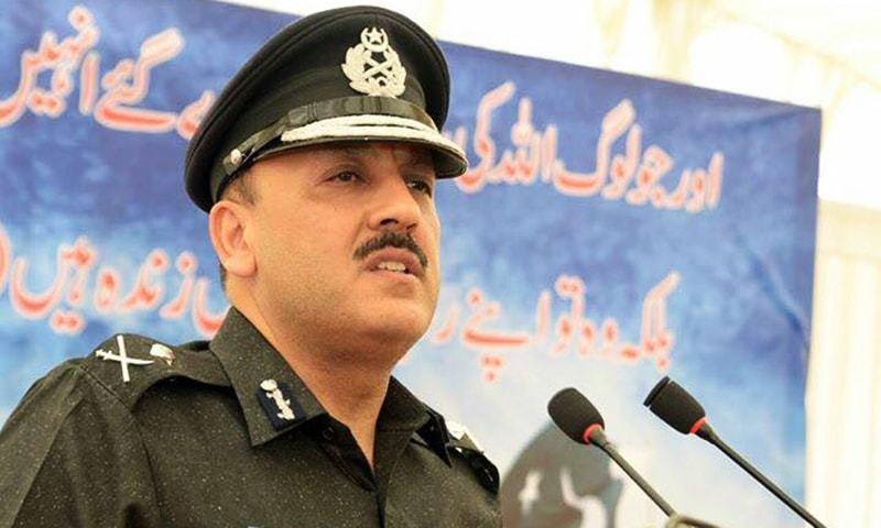 آئی جی سندھ پولیس اے ڈی خواجہ—۔فائل فوٹو