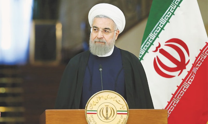 Iran's Rouhani unveils landmark bill guaranteeing rights, freedom of speech