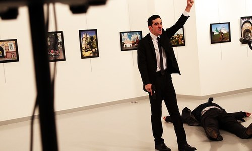 Russian ambassador to Turkey shot dead in Ankara, Moscow terms it 'terrorist act'