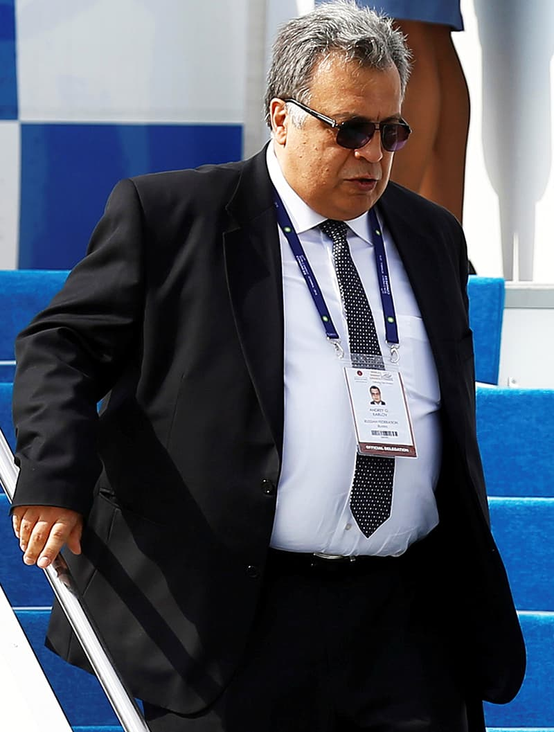 Russian Ambassador to Turkey Andrei Karlov. -Reuters