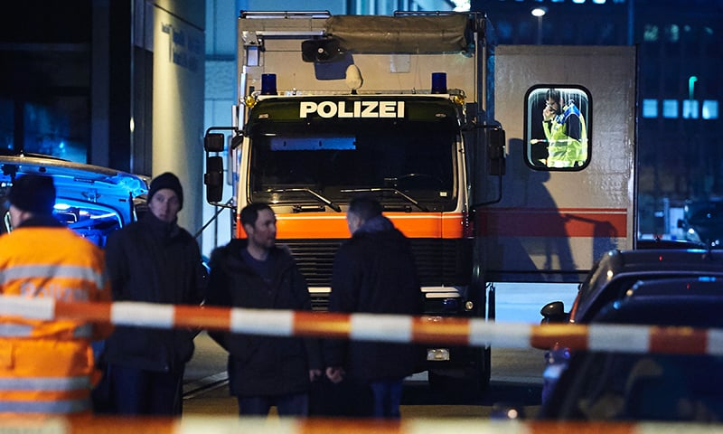 Three hurt in shooting at Muslim prayer hall in Zurich