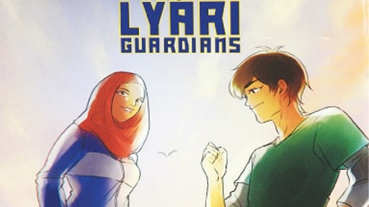 Lyari Guardians comic book asks the question: Does Karachi need a hero?
