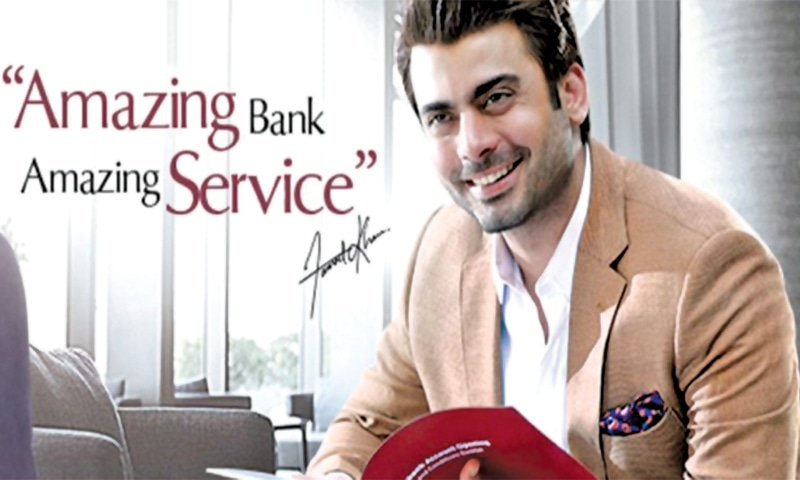 Fawad Khan endorsed the Oye Hoye chips brand with humour and a degree of self-deprecation, while the Silk Bank campaign stood out because of his distinctive voice and style.