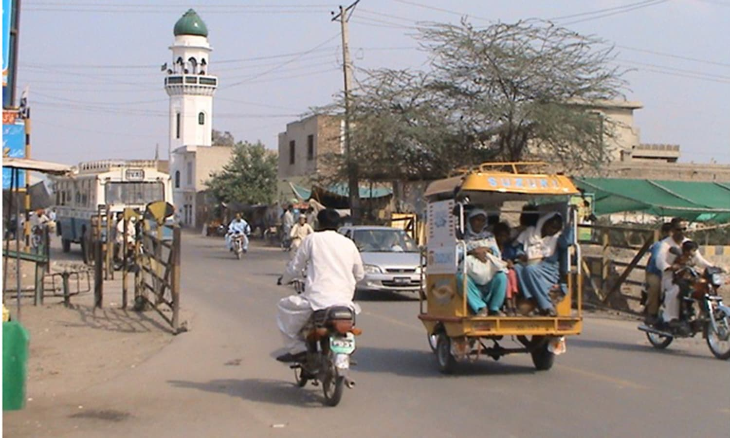 Punjab's Jhang city. It has witnessed sectarian clashes and tensions ever since the late 1980s.