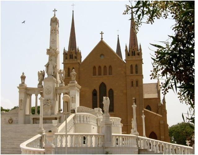 A church in Karachi.