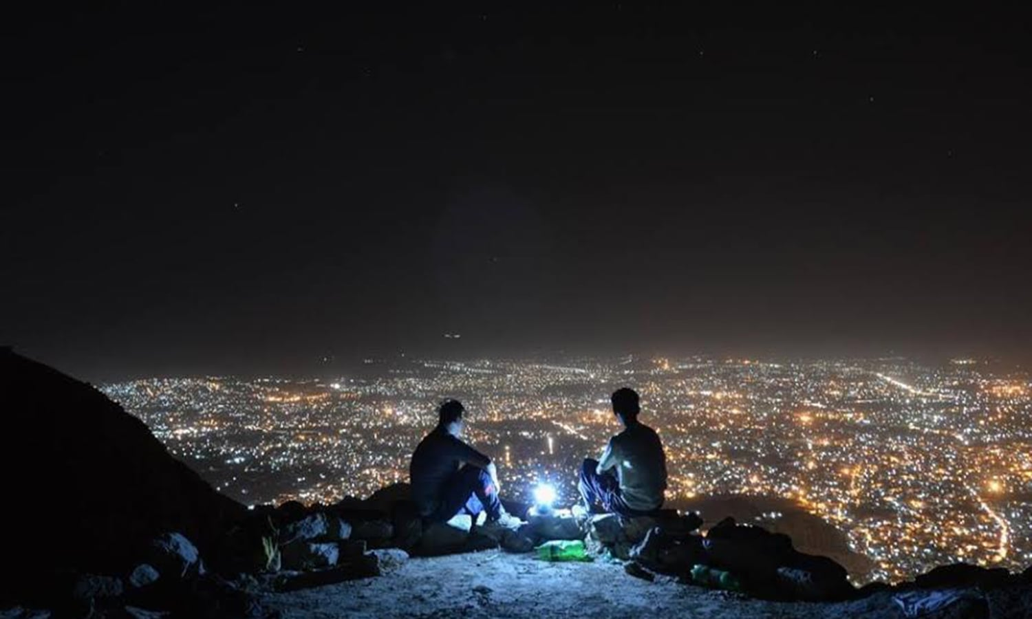 A mountain-top view of Quetta, the capital city of Balochistan. (Pic: Sadat Ali)