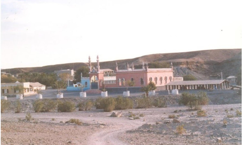 A mosque in Balochistan city of Turbat.